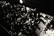 Packed dance floor at Subterranean during California Wives.