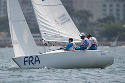 JOURDREN Bruno, FLAGEUL Eric, VIMONT-VICARY Nicolas, FRA, 3-Person Keelboat, SONAR, Sailing, Voile à Rio 2016 Paralympic Games, Brazil