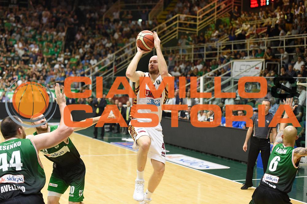 Peric Hrvoje<br /> Sidigas Avellino - Umana Reyer Venezia<br /> Lega Basket Serie A 2016-2017<br /> Playoff Semifinale Gara 6<br /> Avellino 05/06/2017<br /> Foto Ciamillo-Castoria