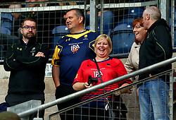 Worcester Warriors fans - Mandatory by-line: Robbie Stephenson/JMP - 28/07/2017 - RUGBY - Franklin's Gardens - Northampton, England - Sale Sharks v Worcester Warriors - Singha Premiership Rugby 7s