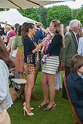 SASKIA BOXFORD; LOLA; TORY COOK, Cartier Queen's Cup. Guards Polo Club, Windsor Great Park. 17 June 2012