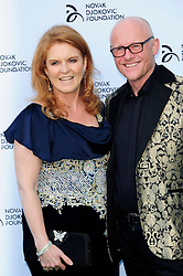 Novak Djokovic Foundation - London Gala Dinner<br /> Sarah Ferguson & John Cauldwell attends the inaugural London fundraiser in aid of tennis champion's foundation raising funds for vulnerable and disadvantaged children, especially in his native Serbia. Takes place day after men's Wimbledon final. Roundhouse, Chalk Farm Road, London, United Kingdom<br /> Monday, 8th July 2013<br /> Picture by Chris Joseph / i-Images