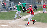 (Karen Bobotas/for the Laconia Daily Sun)Laconia Little League Cantin Chevrolet versus Legion Post 1 May 3, 2011.