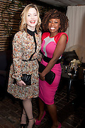HOLLIDAY GRAINGER; DOMINIQUE MOORE;, InStyle Best Of British Talent , Shoreditch House, Ebor Street, London, E1 6AW, 26 January 2011