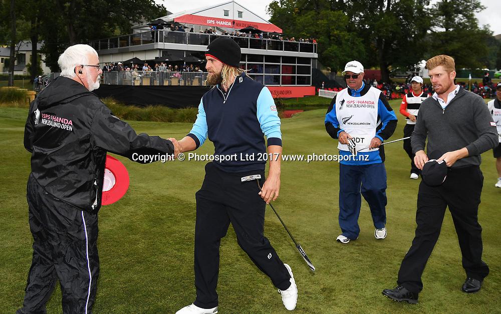 Jack Wilson on day 4 at the 2017 ISPS Handa New Zealand Golf Open. Millbrook, Arrowtown. New Zealand. Sunday 12 March 2017. © Photo: Andrew Cornaga / www.photosport.nz