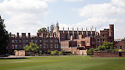 Buildings and playing fields of Eton College, Berkshire, England
