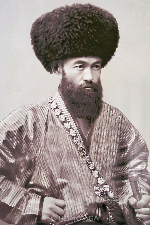 Uzbekistan, Khiva. Mohammed Rakhim Khan Medressa.<br /> Said Islam Khodja - Prime Minister 1899-1913.