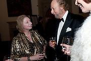 HILARY MANTEL; ED VICTOR; CAROL VICTOR, The 2009 Booker Prize dinner. Guildhall. London. 6 October 2009