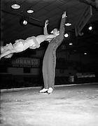 06/10/1955<br /> 10/06/1955<br /> 06 October 1955<br />  Ice skating at the National Stadium, Dublin.