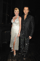 IVANA TRUMP and her fiancŽ ROSSANO RUBICONDI at Andy & Patti Wong's Chinese new Year party held at County Hall and Dali Universe, London on 26th January 2008.<br />