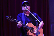 NASHVILLE, TENNESSEE - FEBRUARY 08: Cesar Rosas of Los Lobos performs at City Winery Nashville on February 08, 2020 in Nashville, Tennessee. (Photo by Mickey Bernal/Getty Images)