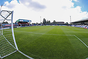 Moss Rose, Home of Macclesfield Town during the EFL Sky Bet League 2 match between Macclesfield Town and Forest Green Rovers at Moss Rose, Macclesfield, United Kingdom on 29 September 2018.