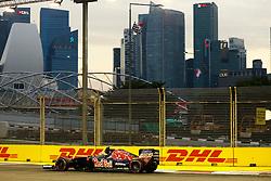 September 16, 2016 - Singapur, Singapur - Motorsports: FIA Formula One World Championship 2016, Grand Prix of Singapore, .#55 Carlos Sainz Junior (ESP, Scuderia Toro Rosso) (Credit Image: © Hoch Zwei via ZUMA Wire)