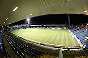A general view of the Priestfield Stadium before the EFL Sky Bet League 1 match between Gillingham and AFC Wimbledon at the MEMS Priestfield Stadium, Gillingham, England on 21 February 2017.