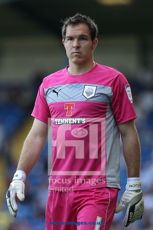 Picture by Michael Sedgwick/Focus Images Ltd +44 7900 363072.08/09/2012.Thorsten Stuckmann of Preston North End during the match against Bury in the npower League 1 at Gigg Lane, Bury.