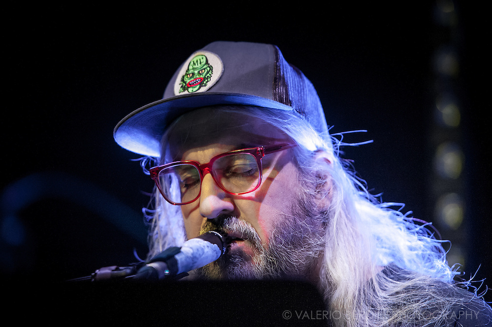 J Mascis playing at the Cambridge Junction in Cambridge on 15 January 2015