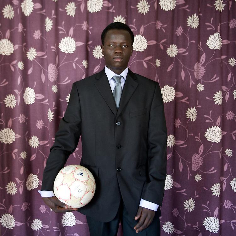Patrick Buni, Sudanese refugee in Ireland