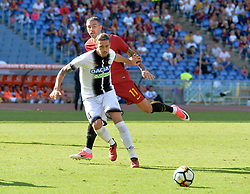 September 23, 2017 - Rome, Italy - Gabriele Angella during the Italian Serie A football match between A.S. Roma and Udinese at the Olympic Stadium in Rome, on september 23, 2017. (Credit Image: © Silvia Lore/NurPhoto via ZUMA Press)