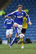 Garry Liddle (5) of Chesterfield FC  during the Sky Bet League 1 match between Chesterfield and Fleetwood Town at the b2net stadium, Chesterfield, England on 26 March 2016. Photo by Ian Lyall.