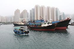 riders Boat trip Hong Kong harbour<br /> CSI 5* Longines Hong Kong Masters 2013<br /> © Hippo Foto - Counet Julien