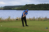 Ernie Heywood (City of Derry) on the 8th tee during Round 2 of The Ulster Seniors Open Championship in Lough Erne Golf Club, Enniskillen, Co. Fermanagh on Tuesday 30th July 2019.<br /> <br /> Picture:  Thos Caffrey / www.golffile.ie<br /> <br /> All photos usage must carry mandatory copyright credit (© Golffile | Thos Caffrey)
