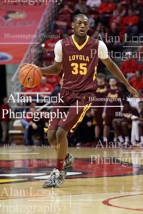 06 January 2016: Milton Doyle(35) during the Illinois State Redbirds v Loyola-Chicago Ramblers at Redbird Arena in Normal Illinois (Photo by Alan Look)