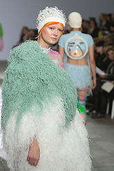 © Licensed to London News Pictures. 28/05/2013. London, England. Collection by Cassandra Verity Green. Central St Martins BA Fashion show with collections by graduate fashion students. Photo credit: Bettina Strenske/LNP