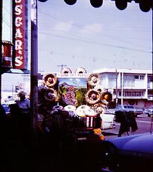 Mexico - possibly Tijuana,  circa 1967<br /> <br />  Photos taken by George Look.  Image started as a color slide.