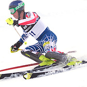 Michael Ankeny, USA, in action during the Men's Slalom event during the Winter Games at Cardrona, Wanaka, New Zealand, 24th August 2011. Photo Tim Clayton...
