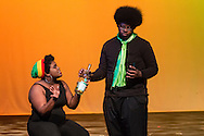 "Middletown, New York - The Apprentice Players of the SUNY Orange Arts and Communications Department peform the play ""Social Prescriptions"" at Orange Hall Theatre on April 16, 2015."