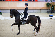 Elisabeth Geluk - Samaranch<br /> KNHS Indoorkampioenschappen 2017<br /> © DigiShots