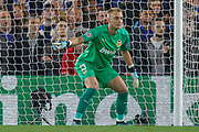 Valencia goalkeeper Neto (13) during the Champions League match between Chelsea and Valencia CF at Stamford Bridge, London, England on 17 September 2019.