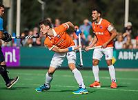 BLOEMENDAAL - Tim Swaen (Bldaal)  .  Hoofdklasse competitiewedstrijd heren, Bloemendaal-Hurley (6-0). COPYRIGHT KOEN SUYK/ KOEN SUYK