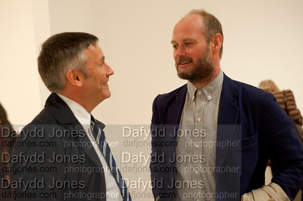 JAKE MILLER; STEVE CLAYTON, Early works 1965-1982. Tate Britain. 26 September 2011. <br /> <br />  , -DO NOT ARCHIVE-© Copyright Photograph by Dafydd Jones. 248 Clapham Rd. London SW9 0PZ. Tel 0207 820 0771. www.dafjones.com.