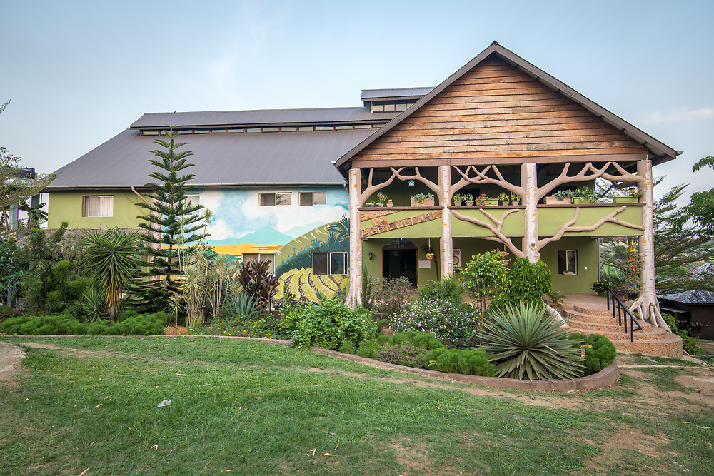An image of the school of Agriculture in Ganta,Liberia