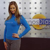 Toluca, Méx.- Monica Mondragon conductora del programa buenos dias de Televisa Toluca. Agencia MVT / Mario Vazquez de la Torre. (DIGITAL)<br /> <br /> NO ARCHIVAR - NO ARCHIVE