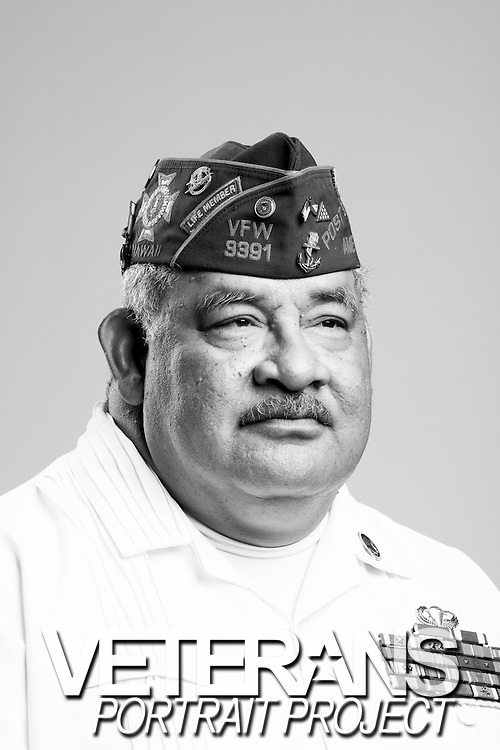 Tusipasi Suiaunoa<br /> Marine Corps<br /> E-9<br /> Sergeant Major<br /> Oct. 1973 - Nov. 2003<br /> Desert Storm<br /> <br /> Veterans Portrait Project<br /> St. Louis, MO