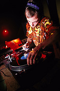 DJ at Sugar Club Leamington Spa September 1999