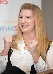 Rebecca Adlington press conference where she announced her retirement from competitive swimming, London, UK, February 5, 2013. Photo by: i-Images