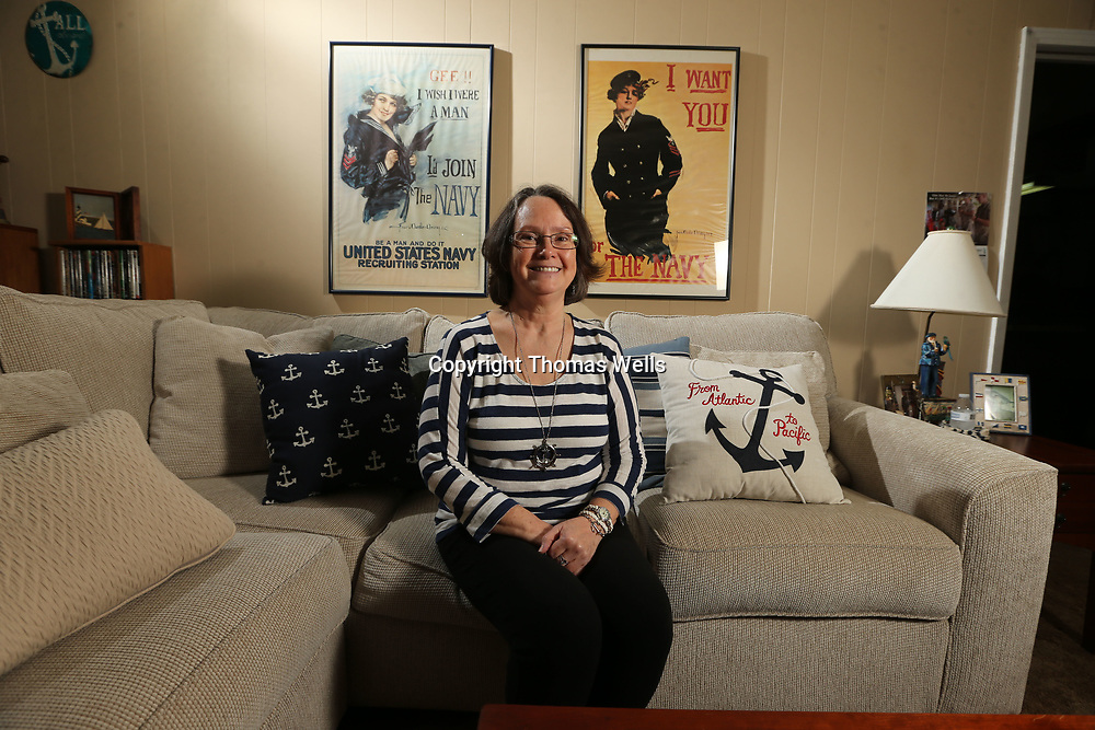 Ruth Brunner spent over 20 years in the navy.