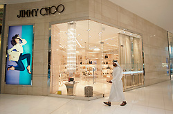 Jimmy Choo store n Dubai Mall in Dubai United Arab Emirates UAE