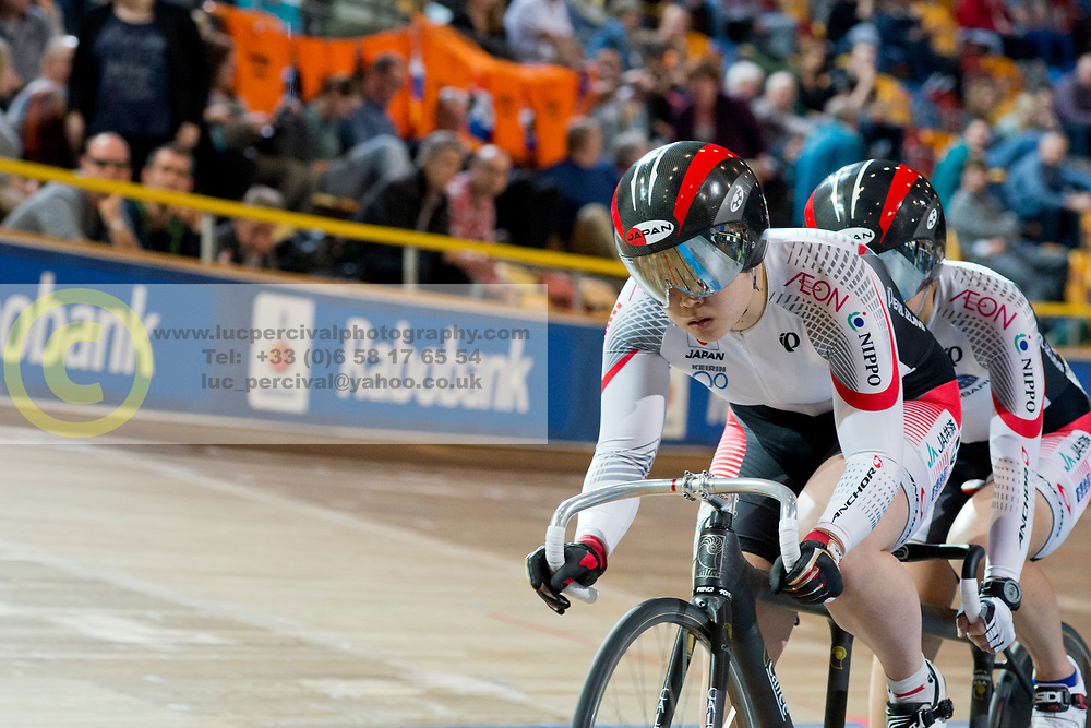 , JPN, Sprint FInals, 2015 UCI Para-Cycling Track World Championships, Apeldoorn, Netherlands