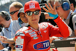 28.08.2010, Motor Speedway, Indianapolis, USA, MotoGP, Red Bull Indianapolis Grand Prix, im Bild Nicky Hayden - Ducati team, EXPA Pictures © 2010, PhotoCredit: EXPA/ InsideFoto/ Semedia *** ATTENTION *** FOR AUSTRIA AND SLOVENIA USE ONLY!