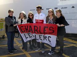 March 6, 2018 - Barcelona, Spain - Testvecka 2, Formel 1, Barcelona ..Charles Leclerc, Sauber, med fans (Credit Image: © JerrevÃ…Ng Stefan/Aftonbladet/IBL via ZUMA Wire)