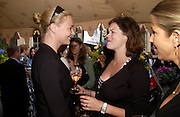 Jodie Kidd  and Jasmine Guinness. Michelle Watches Kaleidoscope Summer party. Home House. 15 June 2005 ONE TIME USE ONLY - DO NOT ARCHIVE  © Copyright Photograph by Dafydd Jones 66 Stockwell Park Rd. London SW9 0DA Tel 020 7733 0108 www.dafjones.com
