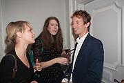 KATHRYN BALLS; MATTHEW BELL The launch of 'Solo', the new James Bond novel written by William Boyd,  The Dorchester , PARK LANE, LONDON. 25 SEPTEMBER 2013.