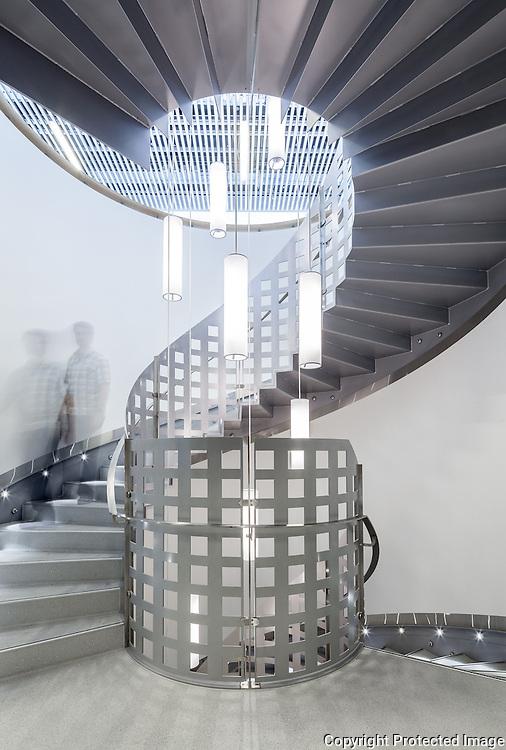 IT Corner (Hjornet), Aarhus University, Demark. Architect: Jørn Schütze, Engineer: Søren Jensen. 2012