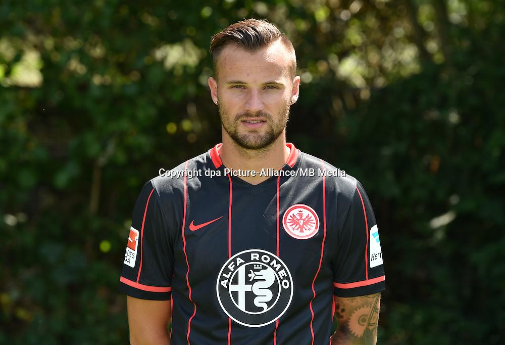 German Soccer Bundesliga 2015/16 - Photocall Eintracht Frankfurt on 15 July 2015 in Frankfurt, Germany: Haris Seferovic.