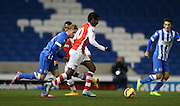 GEDION ZELALEM during the Barclays U21 Premier League match between Brighton U21 and Arsenal U21 at the American Express Community Stadium, Brighton and Hove, England on 1 December 2014.