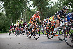 Ellen van Dijk (NED) of Boels-Dolmans Cycling Team rides mid-pack in the second lap around Vårgårda during the 141 km road race of the UCI Women's World Tour's 2016 Crescent Vårgårda women's road cycling race on August 21, 2016 in Vårgårda, Sweden. (Photo by Balint Hamvas/Velofocus)